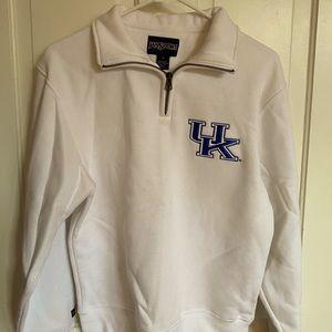 White UK Sweatshirt